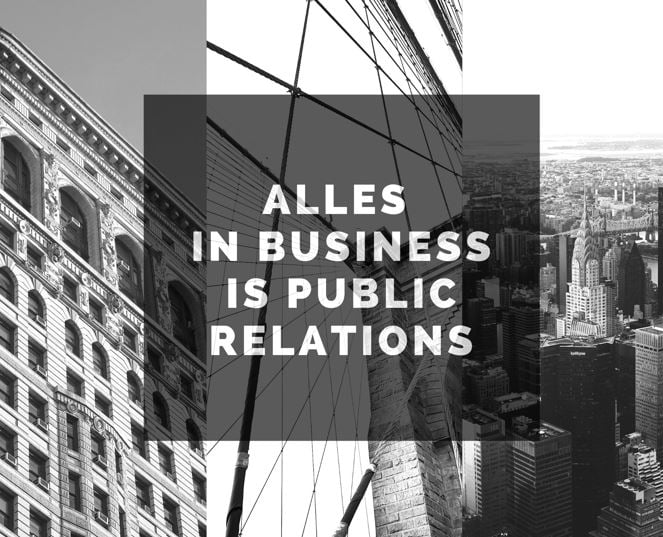 Alles in business is PR - company-optimizer