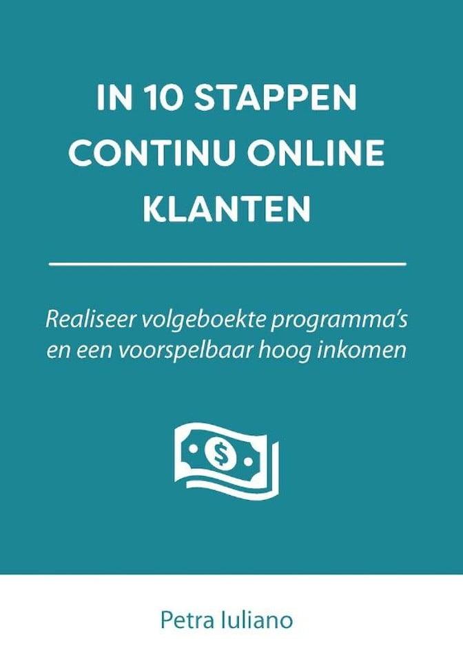 In 10 stappen continu online klanten - Petra Iuliano -boekentip company optimizer