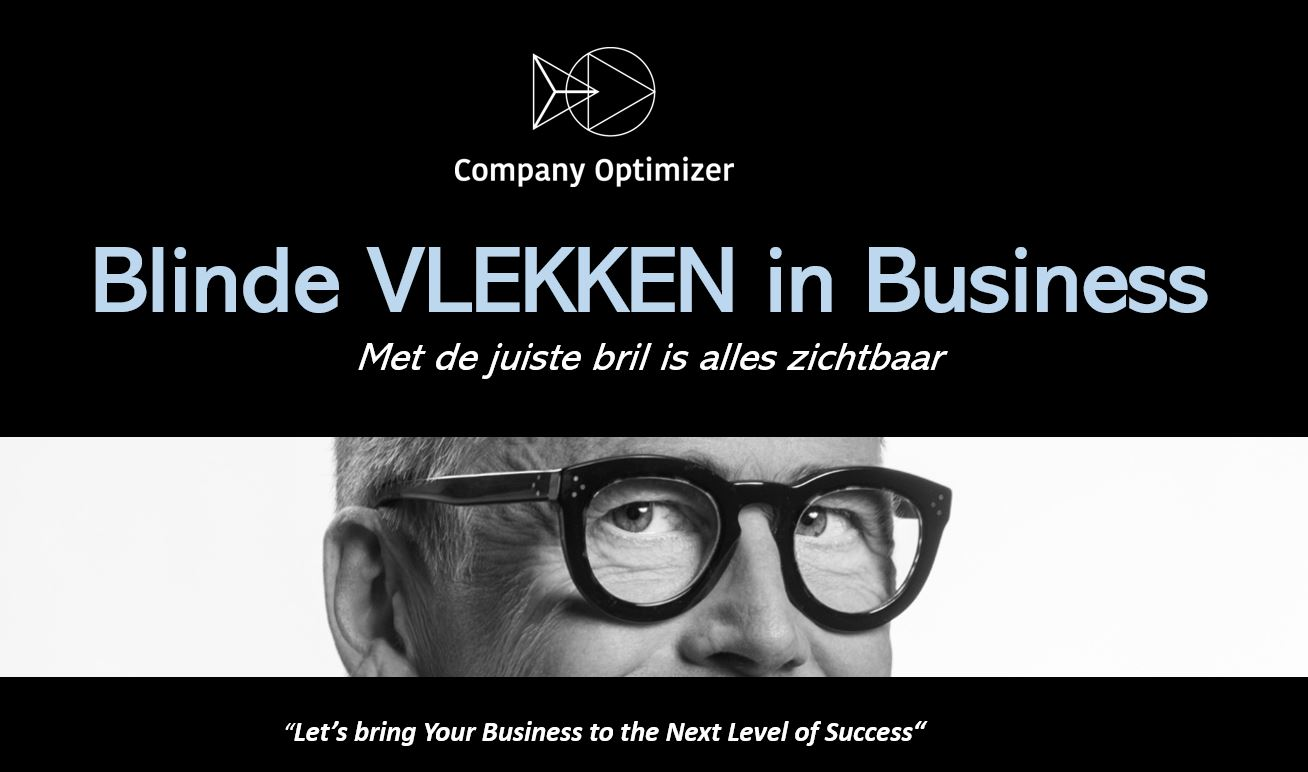 Blinde vlekken in business company optimizer