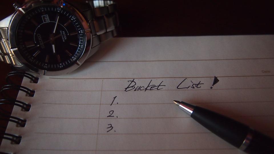 Bucket List or Fuck IT List