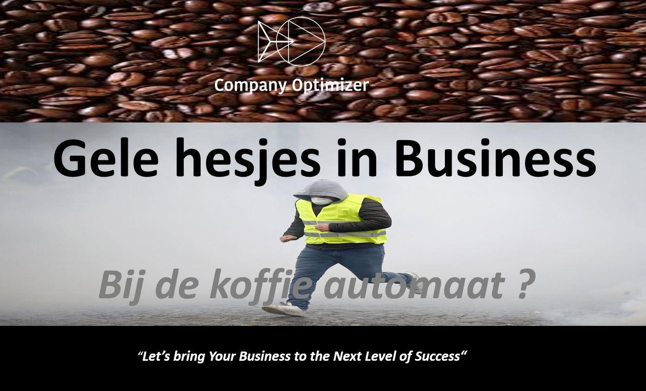 Gele hesjes in business door company optimizer