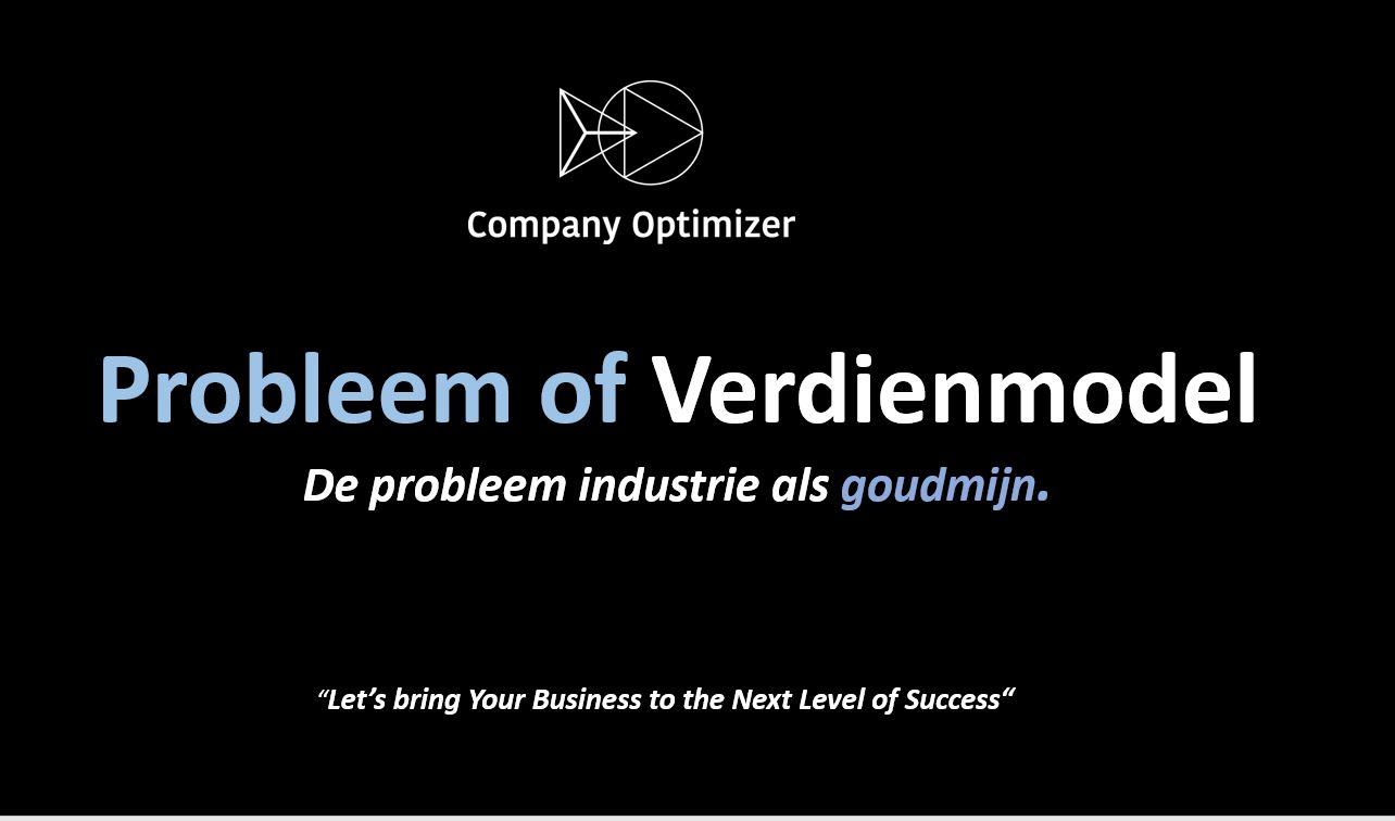 Probleem of verdienmodel