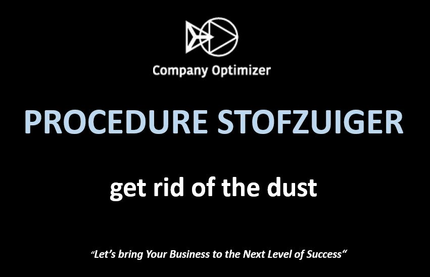 Procedure stofzuiger by company optimizer