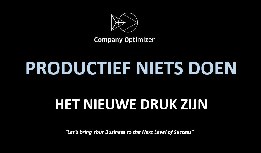 roductief nietsdoen de trend by company optimizer