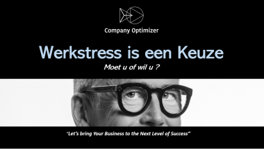 Werkstress is een Keuze company optimizer