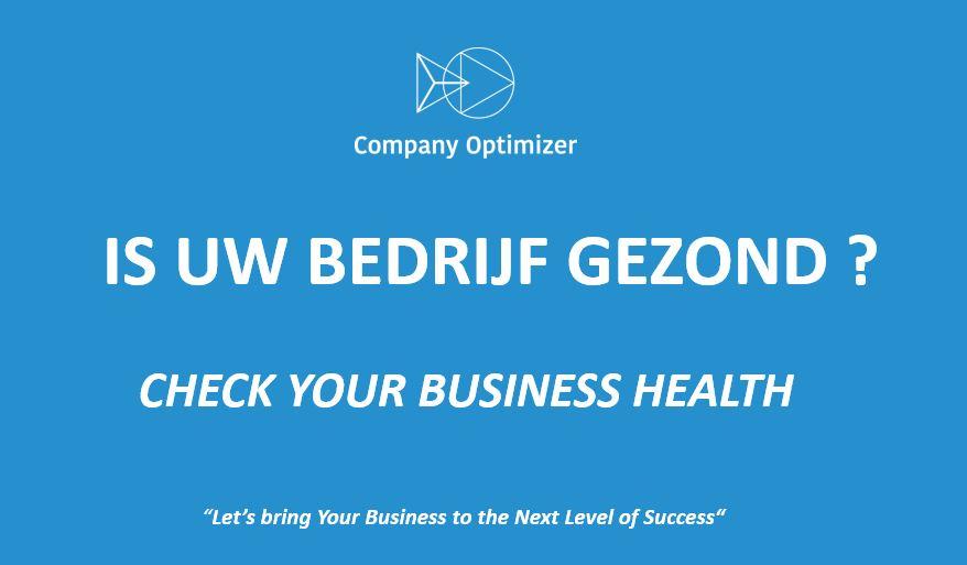 gezondheid van uw bedrijf - health check company optimizer